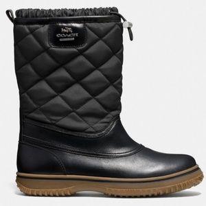 Like new COACH samara boots